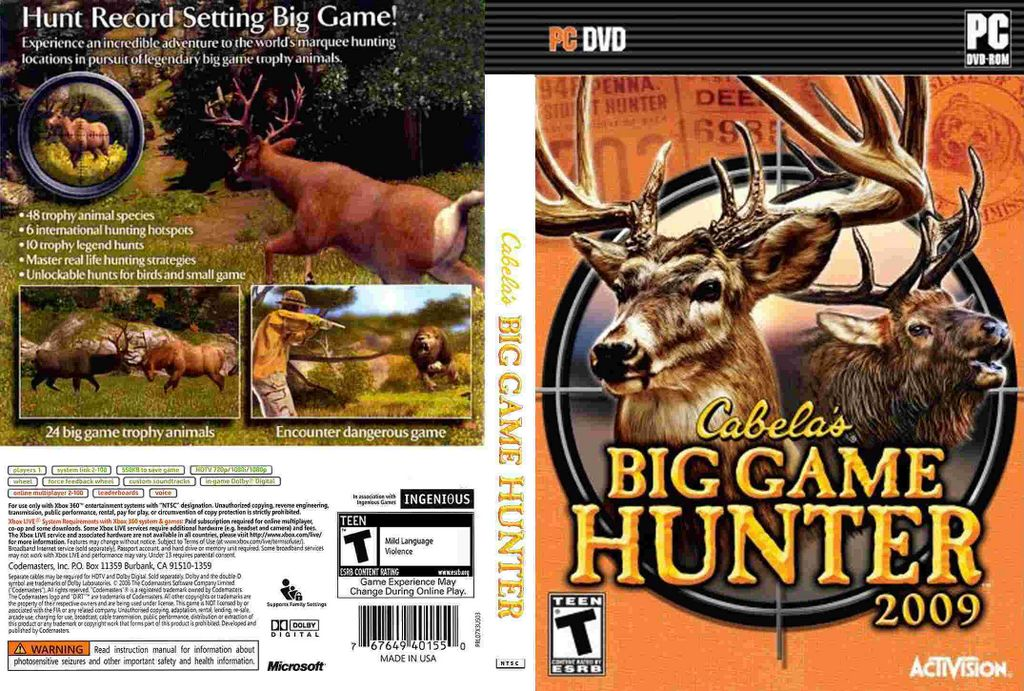 Download Cabelas Big Game Hunter 2007 Free For Pc ...